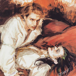 The Vampire Lestat and Louis by Xarou