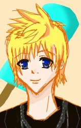 Blonde Haired Kid by Ligbi