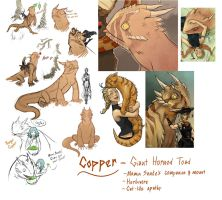 Copper Reference Sheet by DiePestArzt