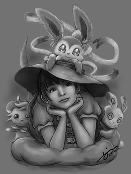 Pokemon Artjam by danielle