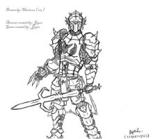 Runescape: Dragon Armour by Tiberious125