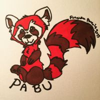 Chibi Pabu by FireNationPhoenix
