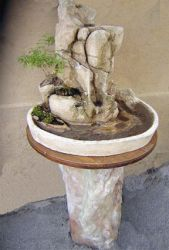 small Landscape fountain by Doumey