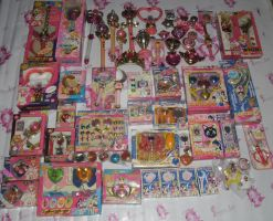 SAILOR MOON POWER ITEMS COLLECTION UPDATE FEB 2013 by prinsesaian