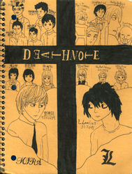 Death Note by nikkissippi121