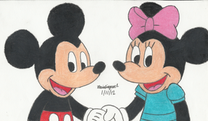 Mickey and Minnie by MarioSimpson1