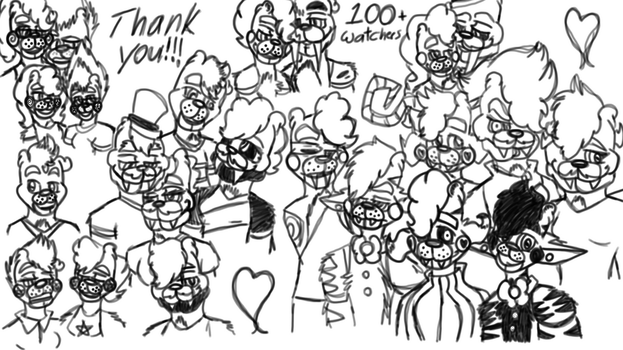 Thank You For 100+ Watchers by Emma5Fabulous