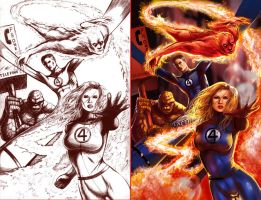 Fantastic Four by IvannaMatilla