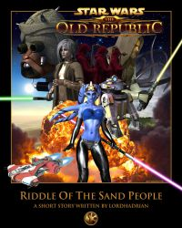Riddle of the Sand People Cover Art by 0biwanken0bie