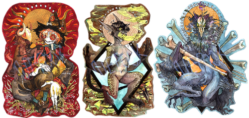 [COM] Watercolor badges 2nd batch by Nepook