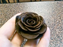 Modeling Chocolate Rose by BrightlyWound455