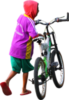 Push the bike PNG by andhikazanuar