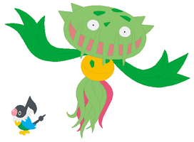 Chatot and Carnivine Base