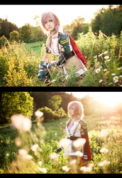 Lightning Cosplay by kaiser-mony
