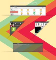 Ferret-gtk-themes by vinceliuice