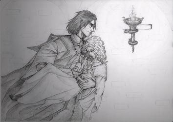 CoMC: Snape to the rescue by Cissy-88