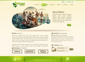 Nisan Reklam Web by zoginet