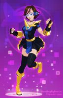 Dancing Fighter! by Morigalaxy