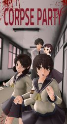 MMD Corpse Party by LightningKiwi
