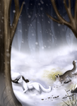 Winter Hunt by TidalCurrent