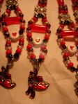 Red Hats- Beading Commission