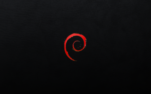 Debian Red Black Leather 2 by monkeymagico