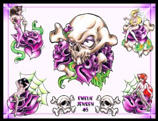 Flash Sheet nr.1 - Colored by BettieBoner