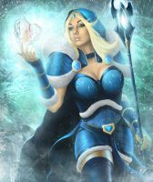 Crystal maiden by AndreiKolosov