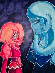 Diamond Drama - _- by skittlepeebles