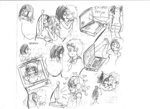 //::the virtual love is special::// by Celineakira98