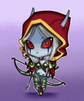 Sylvanas by debbiexblack