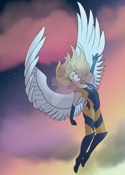 Eclipsing the World by ChellizardDraws