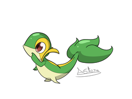 little snivy by JollyThinker