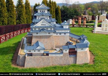 Free Stock China Castle Japan Fortress Model by PeterKmiecik