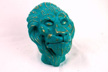 lion head, finished by Vargarys