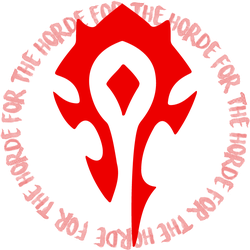 Horde Sticker by RadioactiveFlowers