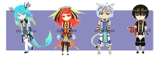 price reduced!!! Adoptable Set price: OPEN by DulcetRain