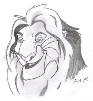 Mufasa KING by witchiamwill