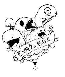 really rough sketch for tee design by zero-Xclothing