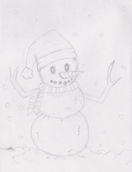 Snowman by Nightowl103