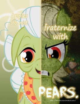 MLP - Two Sides of Granny Smith by Starbat
