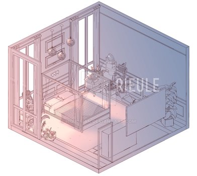 another roomscape by rieule