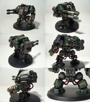 Dark Angel Dreadnought by madhouse-exe