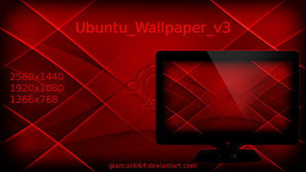 Ubuntu_Wallpaper_v3 by giancarlo64