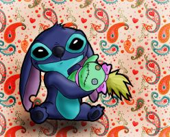 Stitch and Scrump by issabissabel