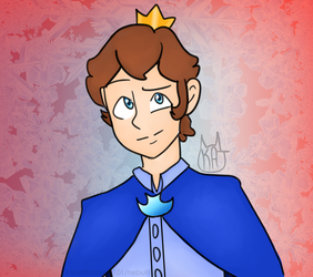Collab: Prince Mitchel by iHeartRosalina101