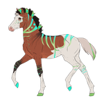 N2657 Padro Foal Design for Nightmarre-art by casinuba