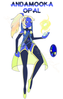 Gem Adopt - Andamooka Opal AUCTION (CLOSED) by OriSODEhime