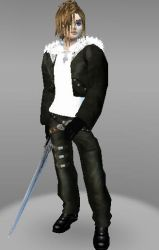 IMVU Squall Final Fantasy Card by ps2105