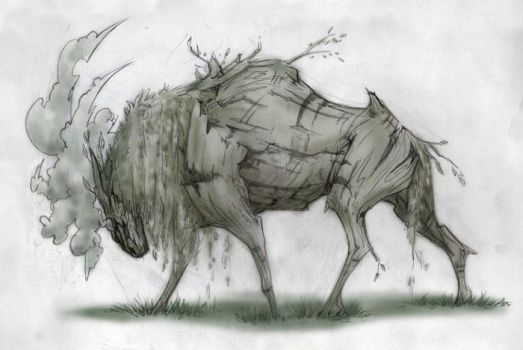 Character Design - Nature by moth-eatn
